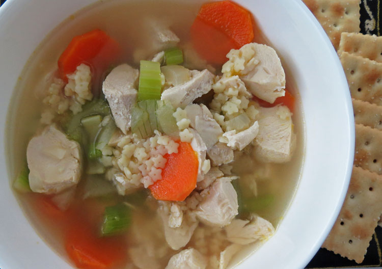 chicken soup with little stars