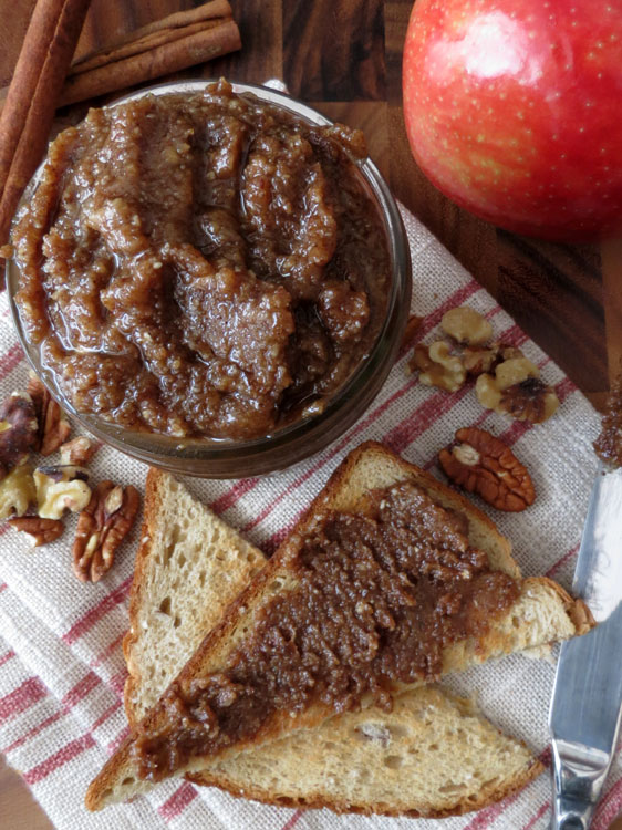 Cinnamon Apple Walnut-Pecan butter