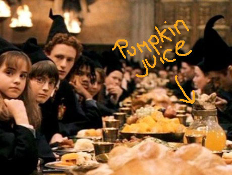harry potter feast