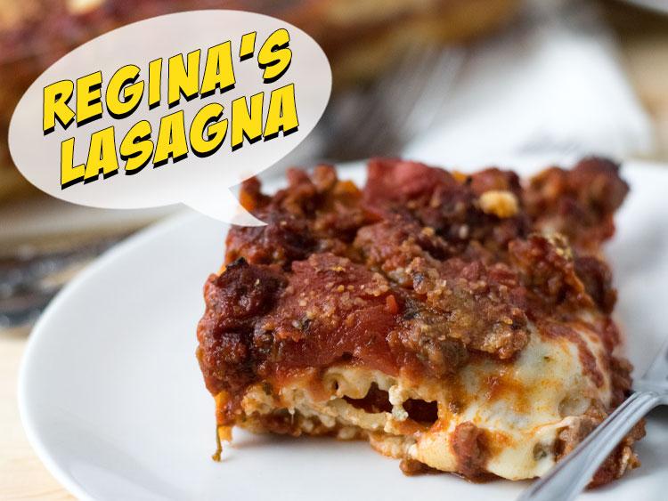Reginas Lasagna